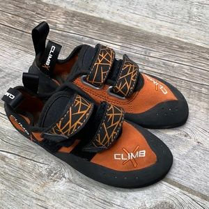 Climb X Rave Velcro Kids Rock Climbing Shoes 3.5
